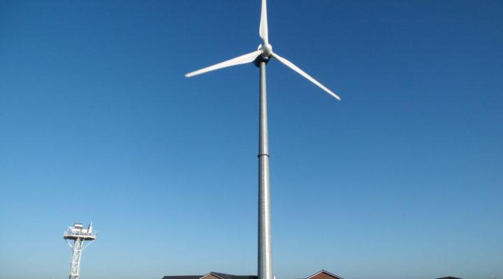 Windturbine Windkraftanlage 10 kW, 30 kW, 100 kW