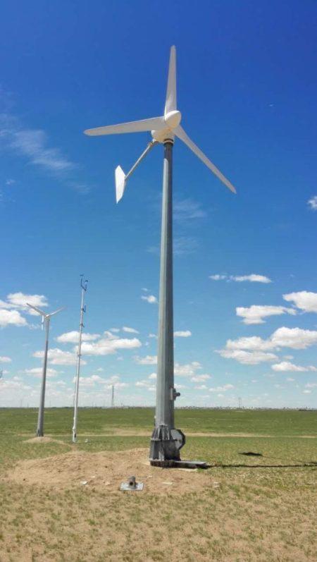 10 kW wind turbine off-grid