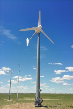 10 kW wind turbine off-grid